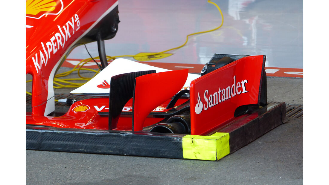 Ferrari - Formel 1 - GP Belgien - Spa-Francorchamps - 21. August 2015
