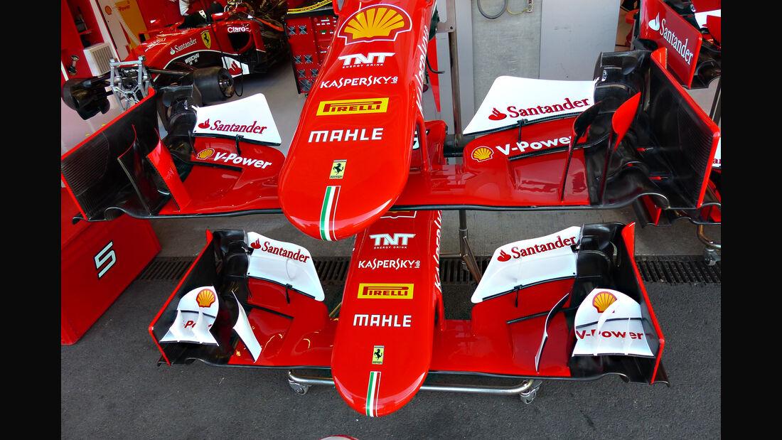 Ferrari - Formel 1 - GP Belgien - Spa-Francorchamps - 22. August 2015