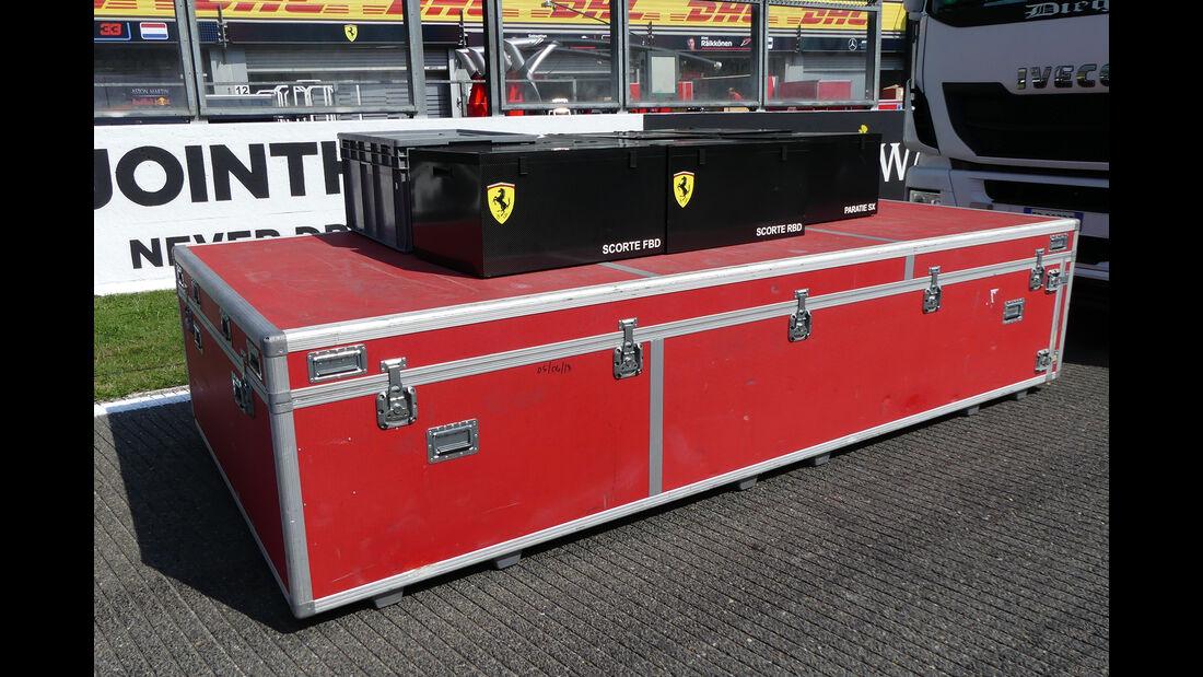 Ferrari - Formel 1 - GP Belgien - Spa-Francorchamps - 22. August 2018