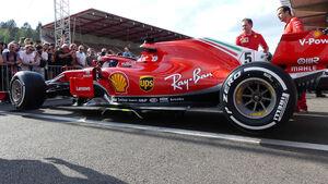Ferrari - Formel 1 - GP Belgien - Spa-Francorchamps - 23. August 2018