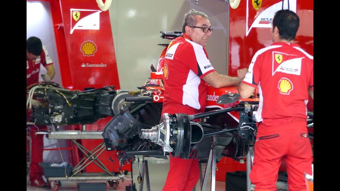 Ferrari - Formel 1 - GP Brasilien- 13. November 2015