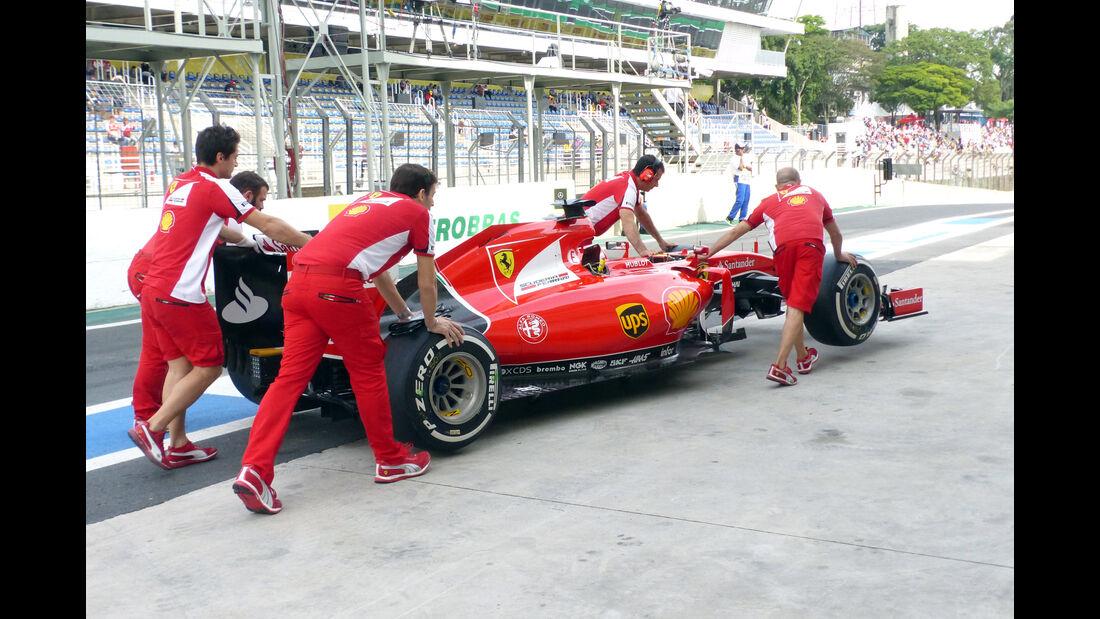 Ferrari - Formel 1 - GP Brasilien- 14. November 2015