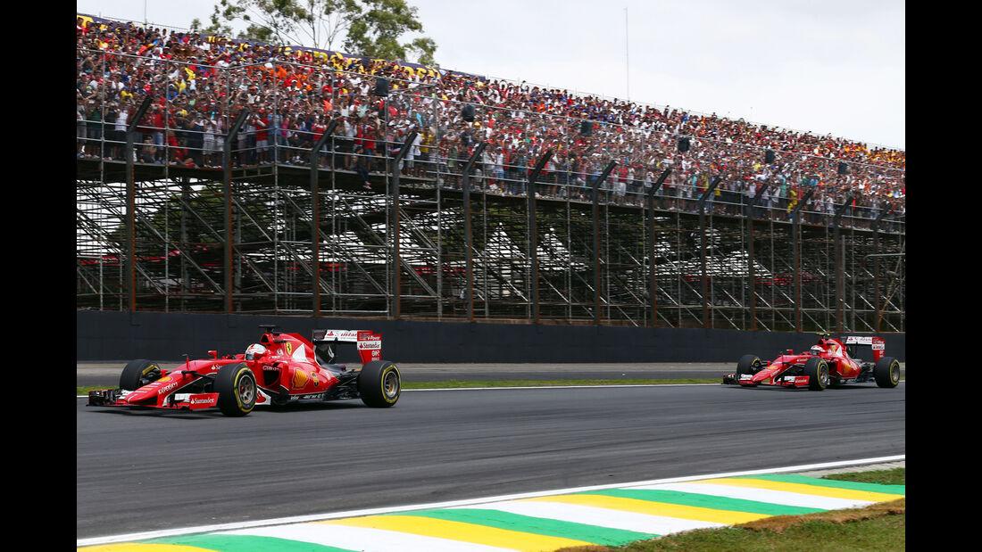 Ferrari - Formel 1 - GP Brasilien- 15. November 2015