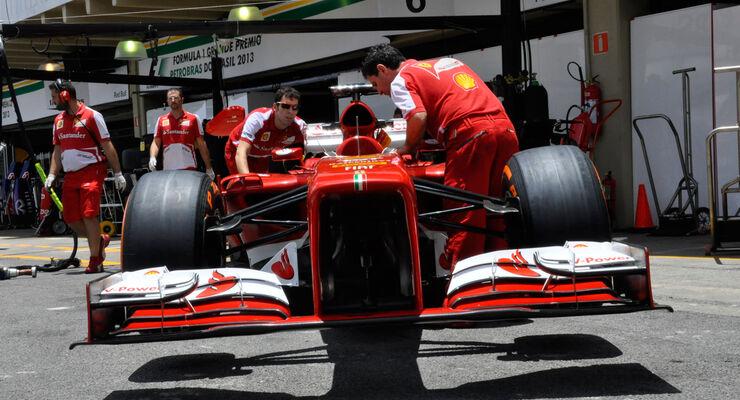 Ferrari - Formel 1 - GP Brasilien - 21. November 2013
