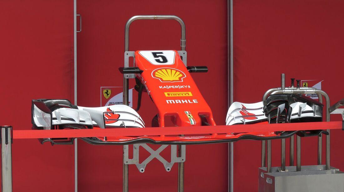 Ferrari - Formel 1 - GP Brasilien - 8. November 2017