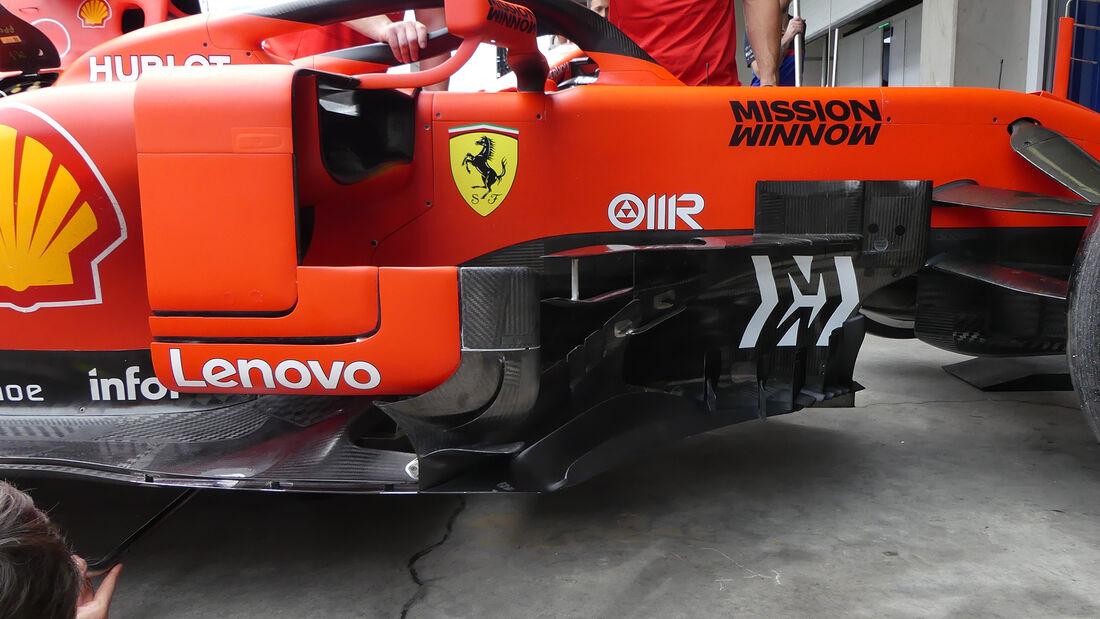 Ferrari - Formel 1 - GP Brasilien - Sao Paulo - 14. November 2019
