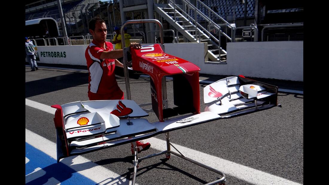 Ferrari - Formel 1 - GP Brasilien - Sao Paulo - 22. November 2012