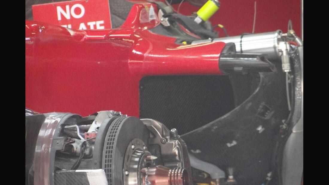 Ferrari - Formel 1 - GP China - 11. April 2012