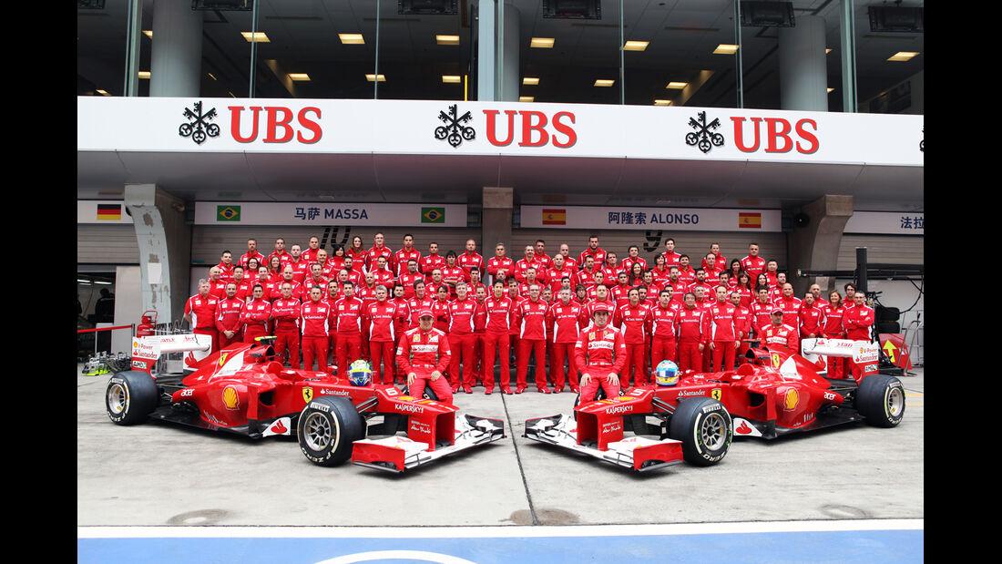 Ferrari - Formel 1 - GP China - 13. April 2012