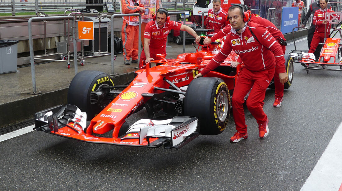 Ferrari - Formel 1 - GP China 2017 - Shanghai - 7.4.2017