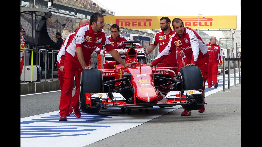 Ferrari - Formel 1 - GP China - Shanghai - 10. April 2015