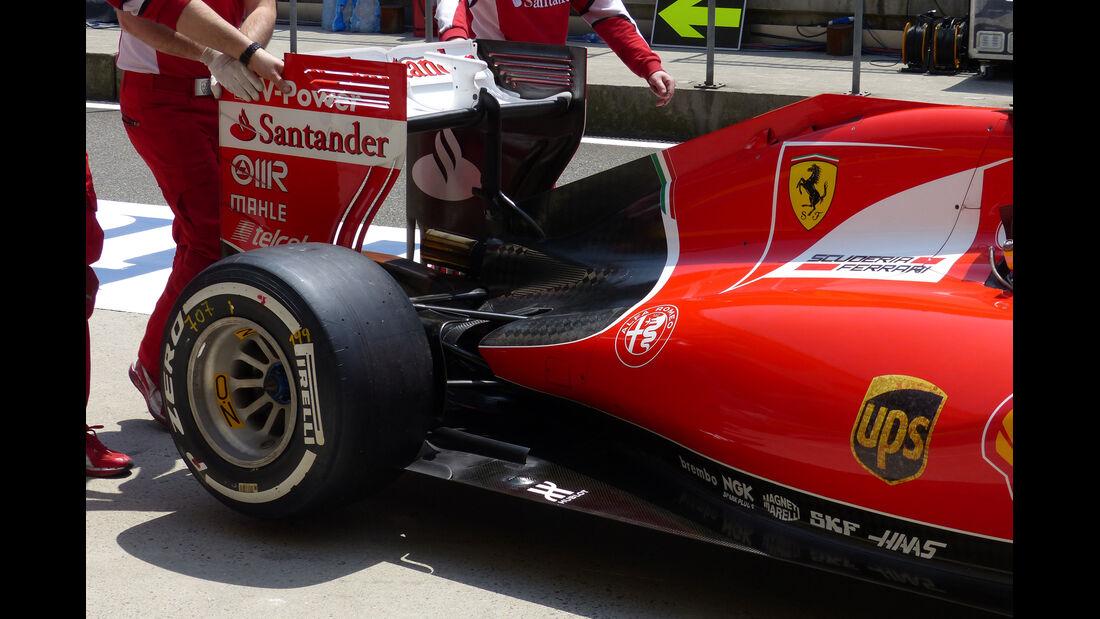 Ferrari - Formel 1 - GP China - Shanghai - 11. April 2015
