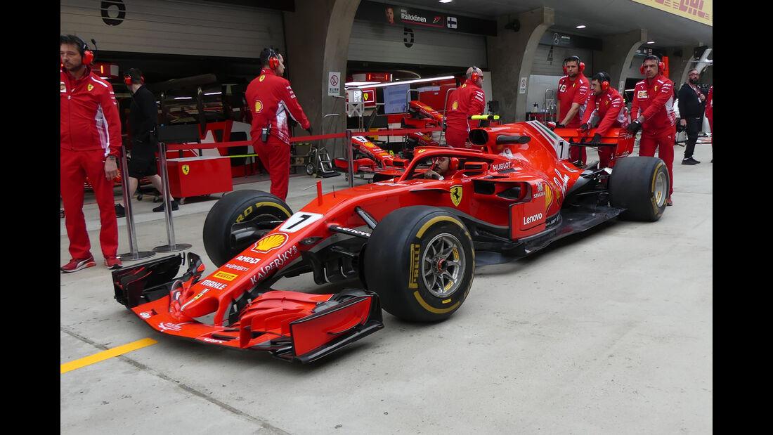 Ferrari - Formel 1 - GP China - Shanghai - 12. April 2018