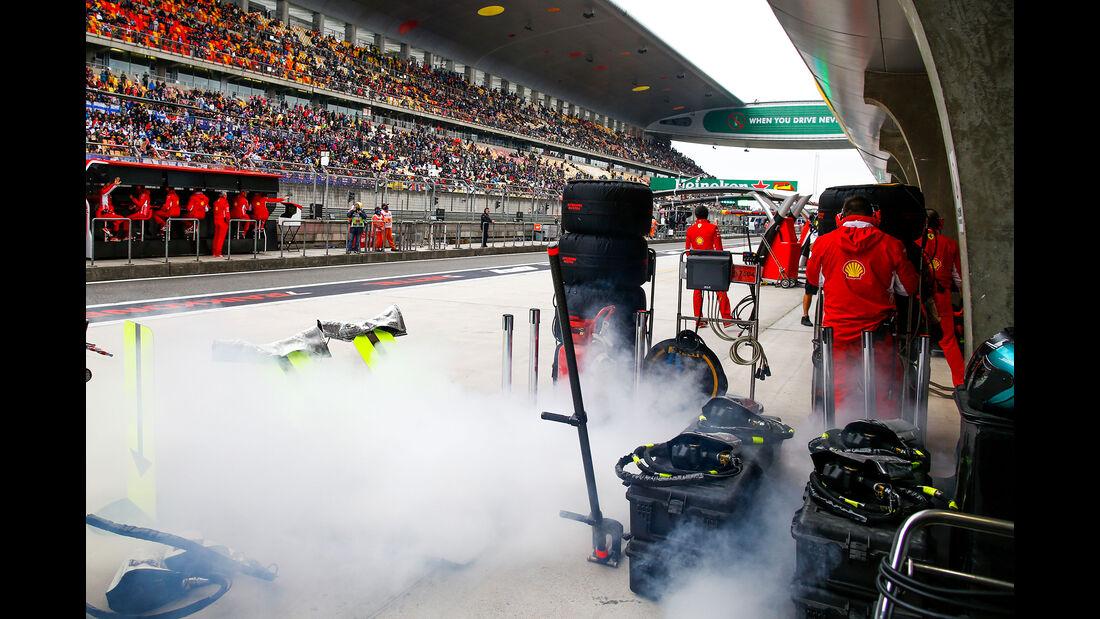 Ferrari - Formel 1 - GP China - Shanghai - 14. April 2018