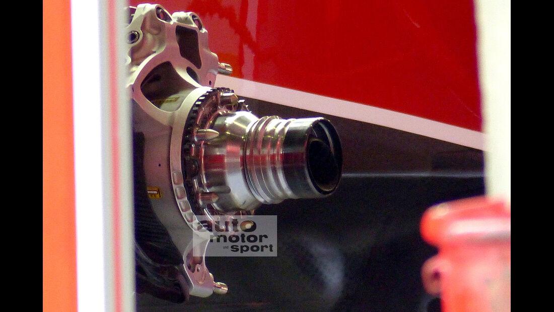 Ferrari - Formel 1 - GP China - Shanghai - 16. April 2014