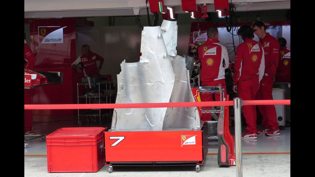 Ferrari - Formel 1 - GP China - Shanghai - 17. April 2014