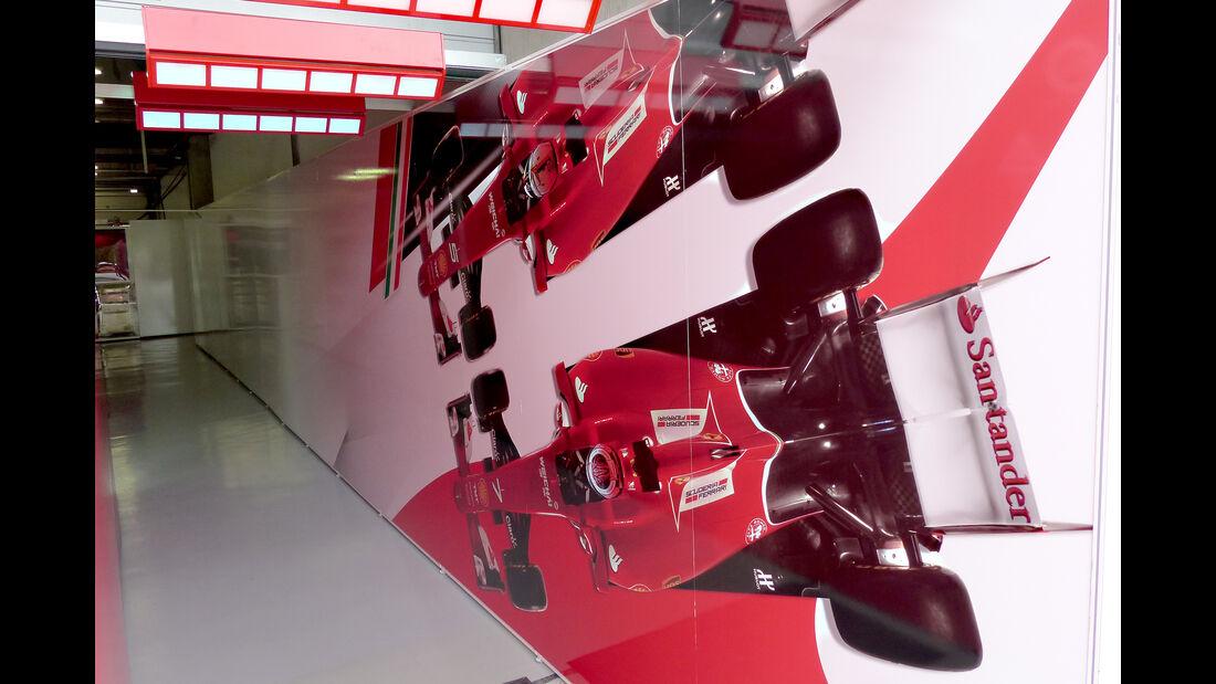 Ferrari - Formel 1 - GP China - Shanghai - 8. April 2015