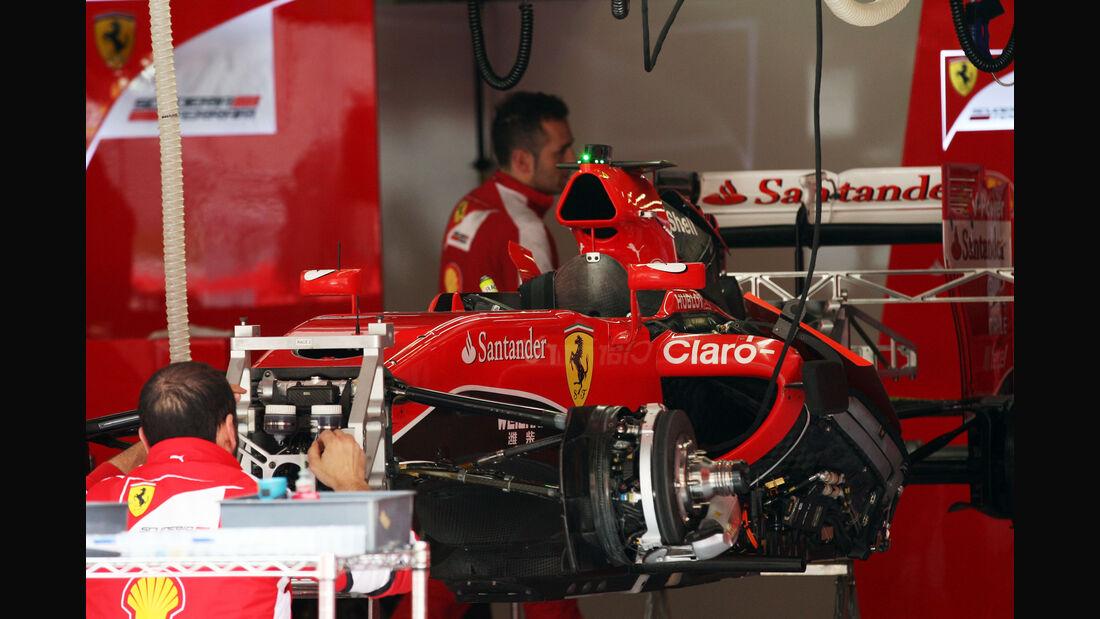 Ferrari - Formel 1 - GP China - Shanghai - 9. April 2015
