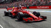 Ferrari - Formel 1 -GP Deutschland 2018