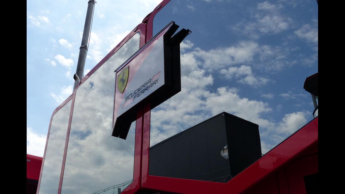 Ferrari - Formel 1 - GP Deutschland - Hockenheim - 16. Juli 2014