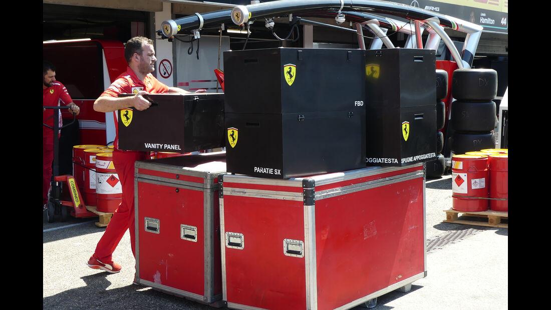 Ferrari - Formel 1 - GP Deutschland - Hockenheim - 18. Juli 2018