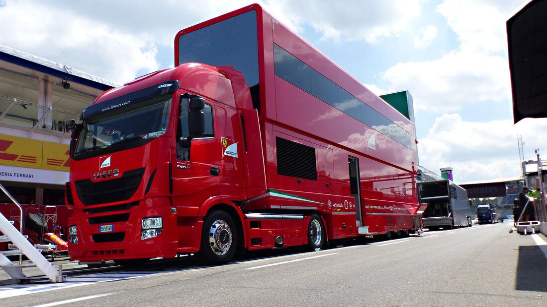 Ferrari - Formel 1 - GP Deutschland - Hockenheim - 27. Juli 2016