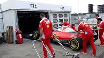Ferrari - Formel 1 - GP Deutschland - Hockenheim - 28. Juli 2016