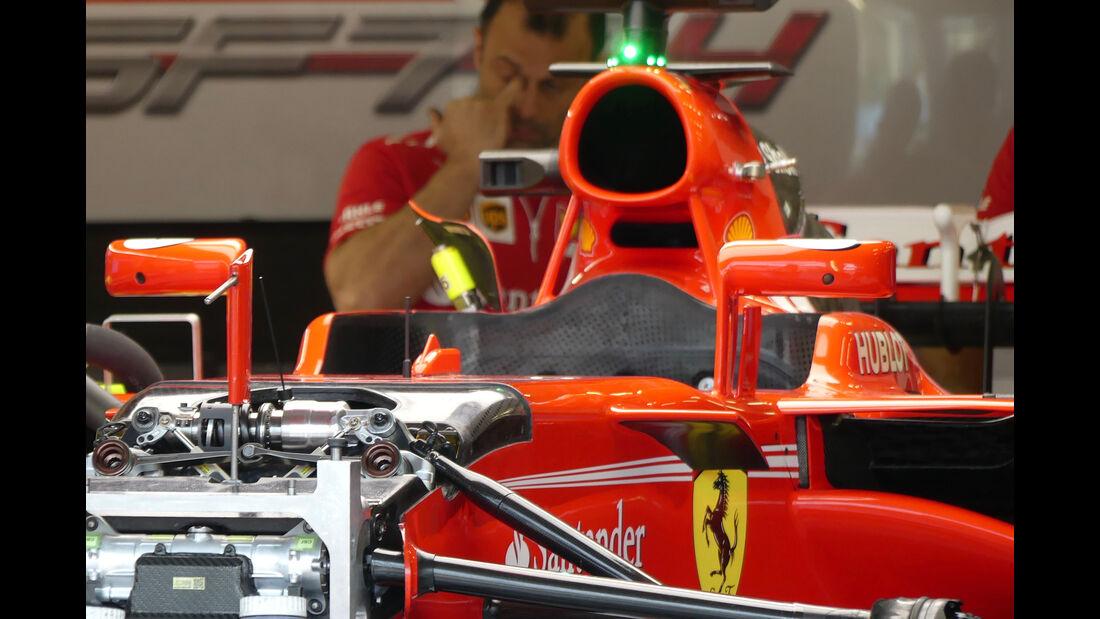 Ferrari - Formel 1 - GP England - 13. Juli 2017
