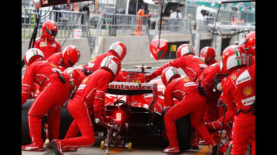 Ferrari - Formel 1 - GP England - 16. Juli 2017