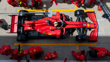 Ferrari - Formel 1 - GP England 2020