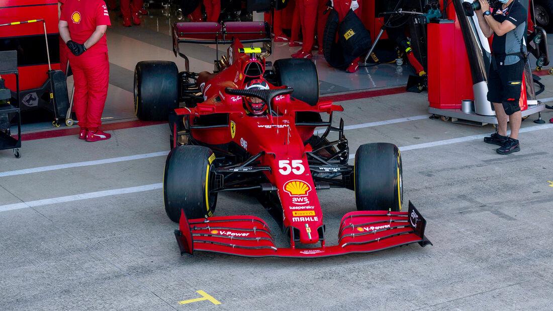 Ferrari - Formel 1 - GP England 2021