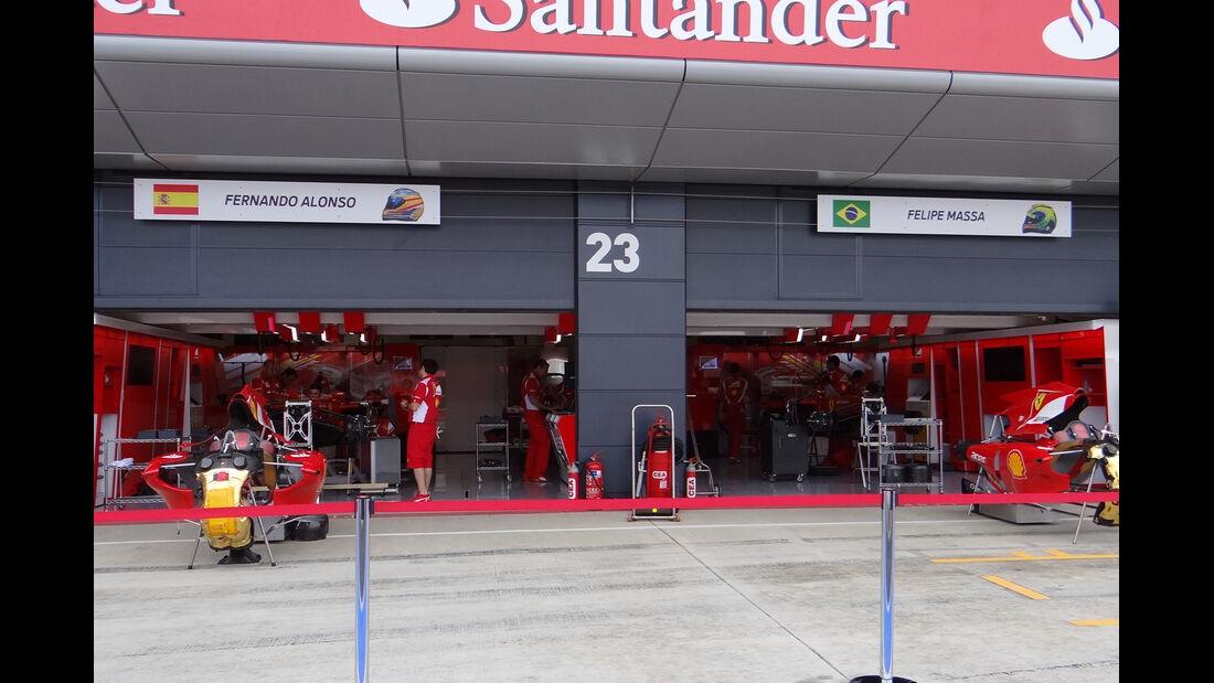 Ferrari - Formel 1 - GP England - Silverstone - 5. Juli 2012