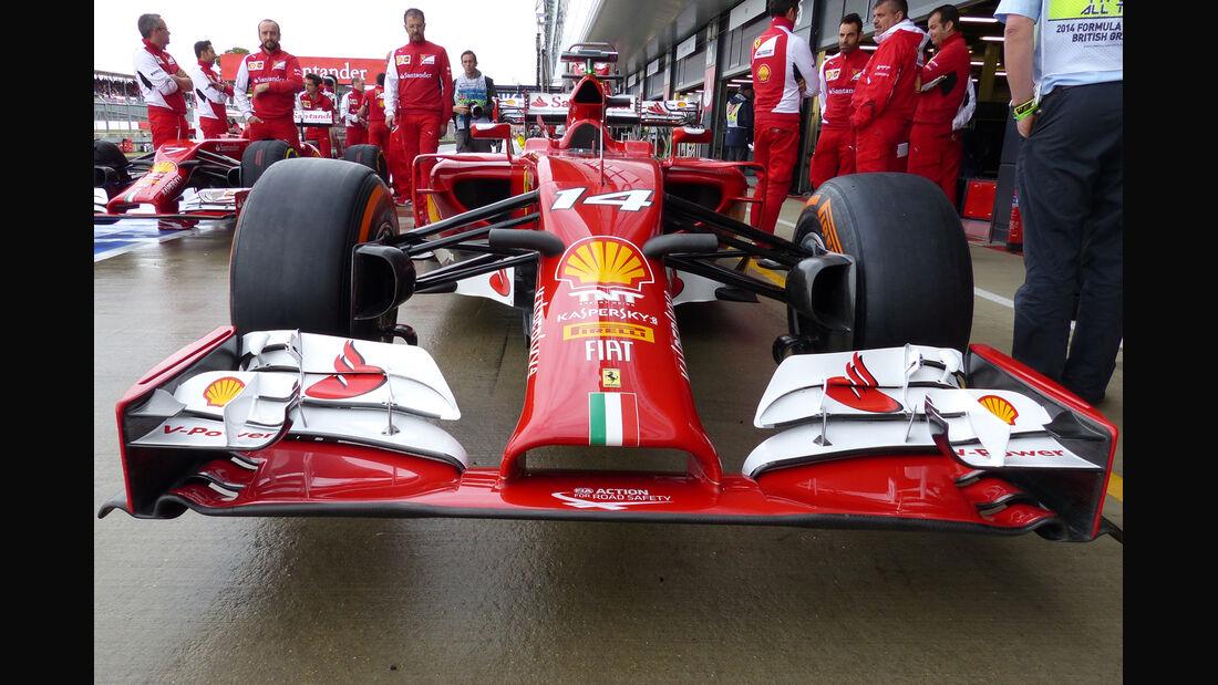 Ferrari - Formel 1 - GP England - Silverstone - 5. Juli 2014