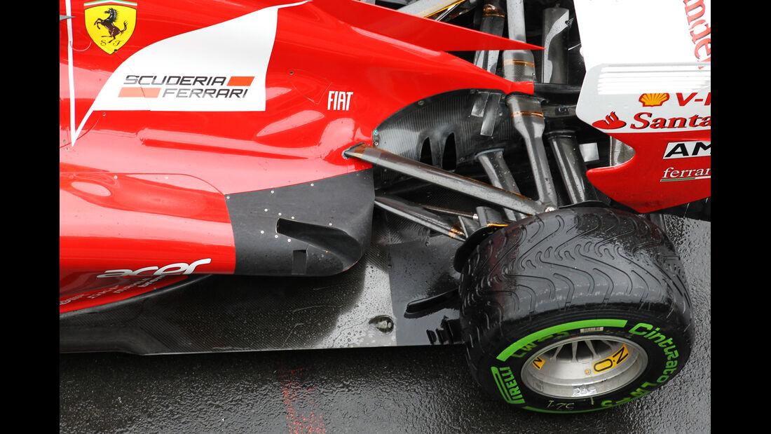 Ferrari - Formel 1 - GP England - Silverstone - 6. Juli 2012