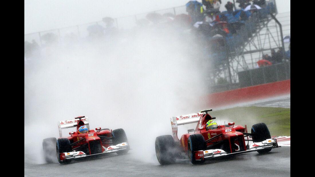 Ferrari - Formel 1 - GP England - Silverstone - 7. Juli 2012