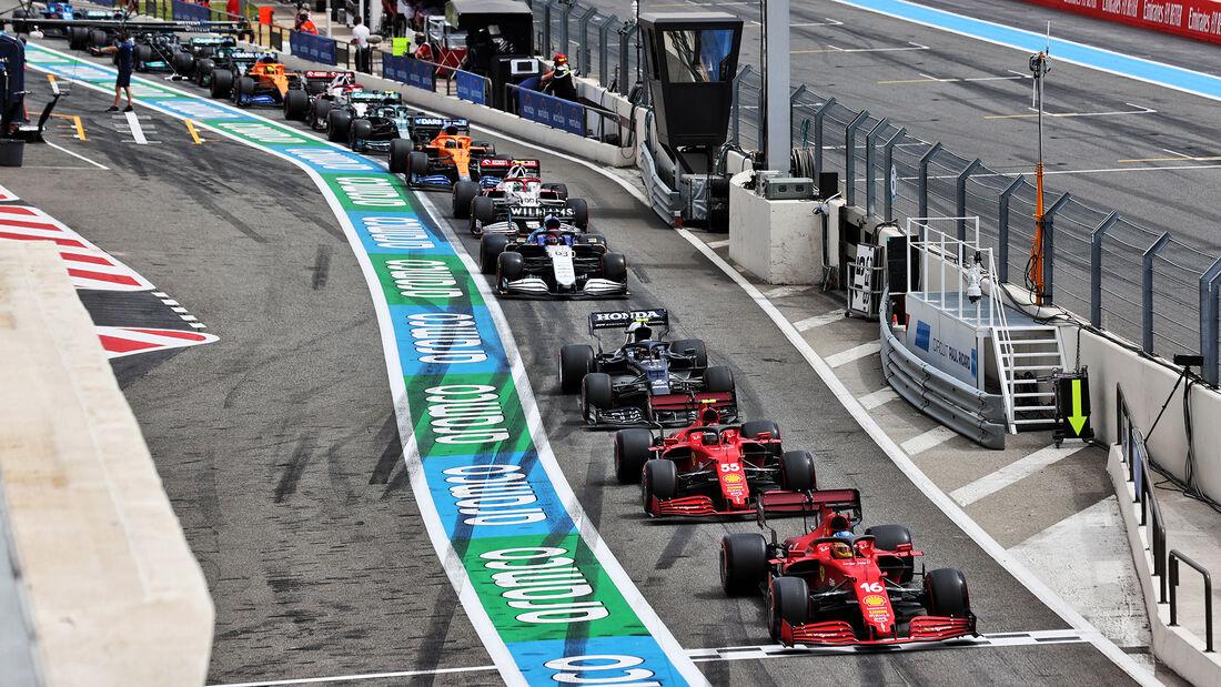 Ferrari - Formel 1 - GP Frankreich - Le Castellet - 19. Juni 2021