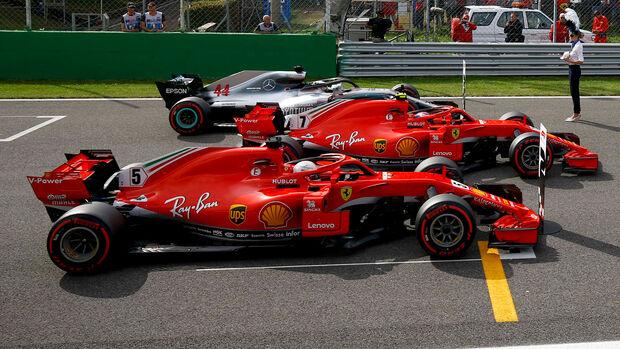 Ferrari - Formel 1 - GP Italien - 2018