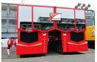 Ferrari - Formel 1 - GP Italien - 3. September 2014