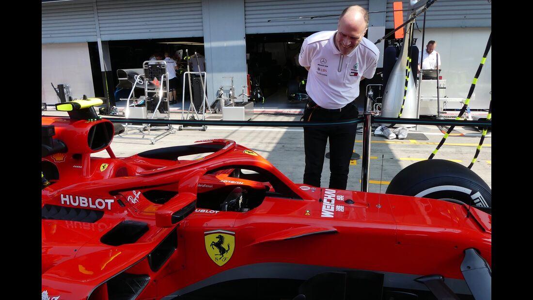 Ferrari - Formel 1 - GP Italien - 30. August 2018