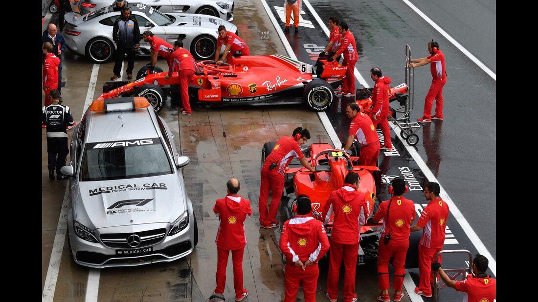 Ferrari - Formel 1 - GP Italien - 31. August 2018