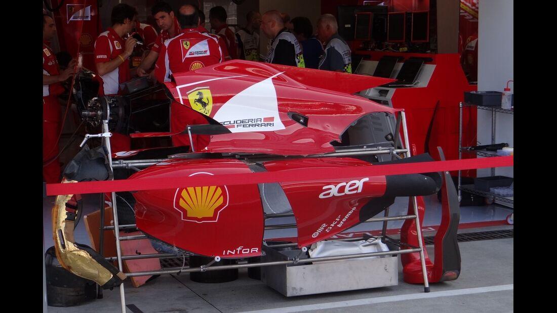 Ferrari - Formel 1 - GP Italien - 6. September 2012
