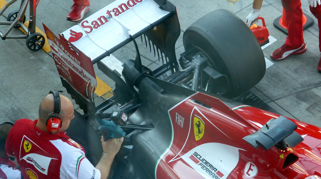 Ferrari - Formel 1 - GP Italien - 6. September 2014
