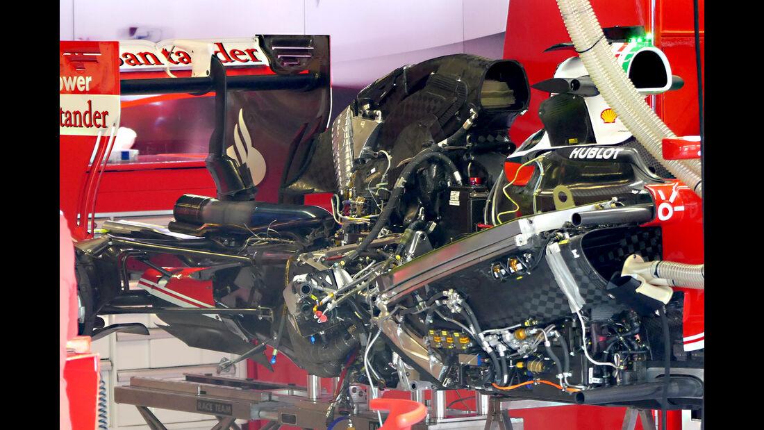 Ferrari - Formel 1 - GP Italien - Monza - 1. September 2016