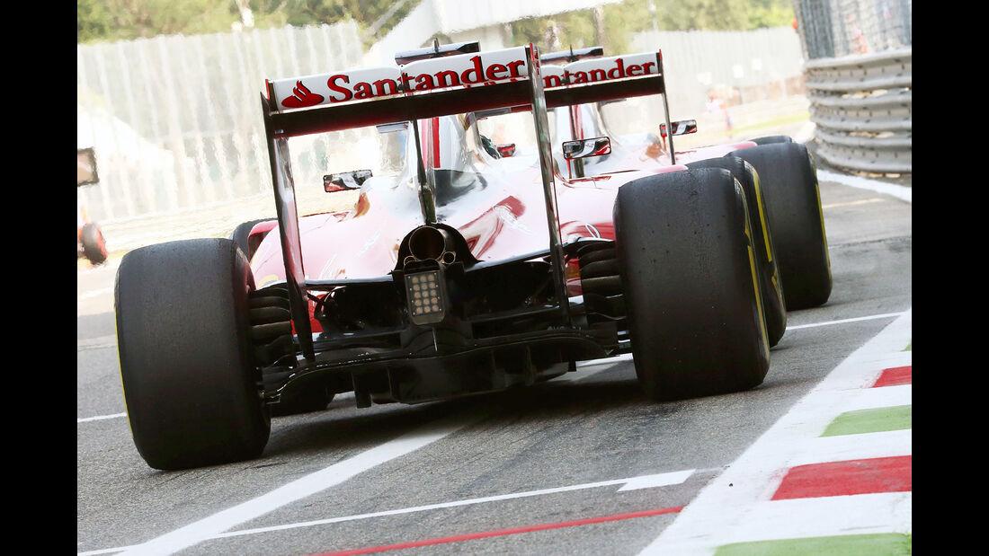 Ferrari - Formel 1 - GP Italien - Monza - 2. September 2016