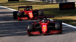 Ferrari - Formel 1 - GP Italien - Monza - 2021