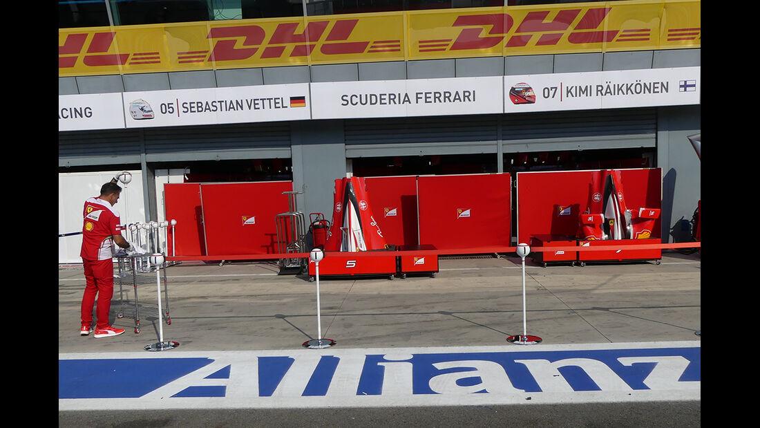 Ferrari - Formel 1  - GP Italien - Monza - 31. August 2016