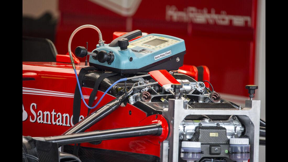 Ferrari - Formel 1 - GP Italien - Monza - 31. August 2017