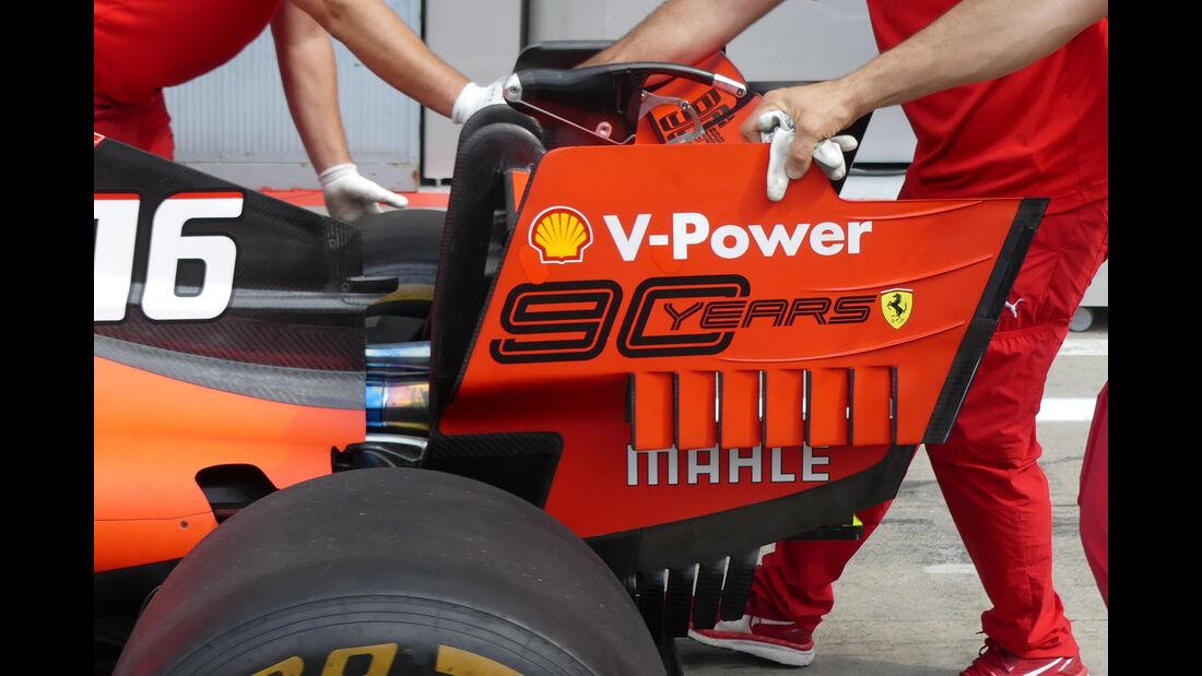 Ferrari - Formel 1 - GP Italien - Monza - 5. September 2019