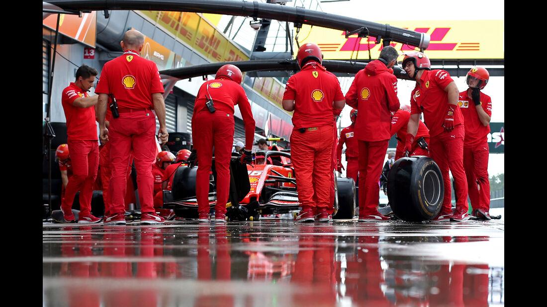 Ferrari - Formel 1 - GP Italien - Monza - 6. September 2019