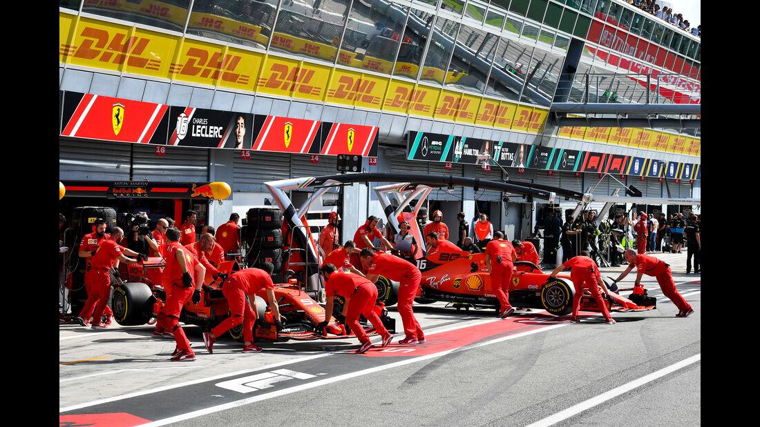 Ferrari  - Formel 1 - GP Italien - Monza - 7. September 2019